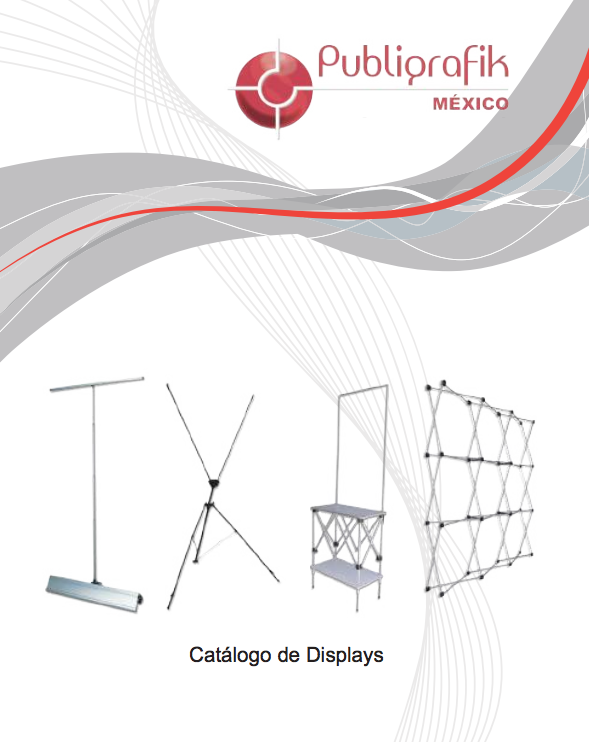 Catalogo de displays y banners